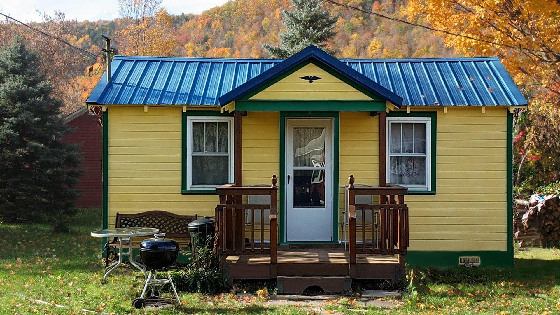 Phenomenal Catskill Bungalow Tiny House Vacation Rental Small Cabin Beutiful Home Inspiration Semekurdistantinfo